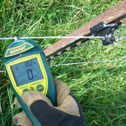 electric fence voltmeter